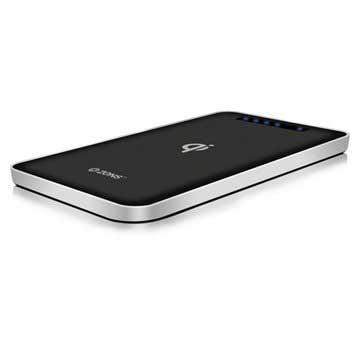 Zens Caricabatterie Wireless Qi / Power Bank Nero