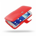 Custodia in Pelle PDair 3RSSG2B41 per Samsung Galaxy Grand 2 - Rosso