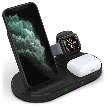 3-in-1 Wireless Charging Station - iPhone, Apple Watch, AirPods