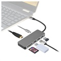 4smarts 7-in-1 USB-C Hub - HDMI, USB 3.0, 2 x USB 2.0 - Space Grey