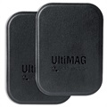 4smarts UltiMag Car Mount Metal Plates - Black
