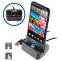 4smarts GravityDock Lightning & MicroUSB Magnetic Charging Station - 10.5W