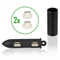 4smarts Magnetic Connector Set and Case for GravityCord 2.0 - 2 x Lightning
