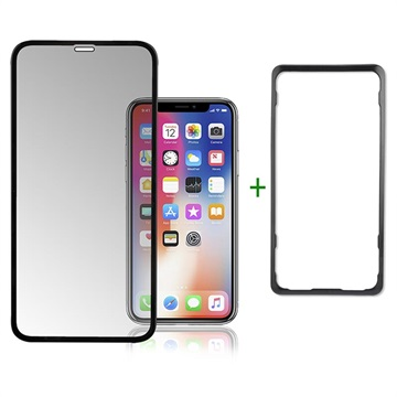 4smarts Second Glass Easy-Assist Salvaschermo per iPhone XR / iPhone 11 - Nero