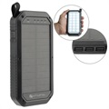 4smarts TitanPack Solar Charger & Power Bank - 8000mAh - Black
