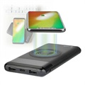 Power Bank induttivo Qi 4smarts VoltHub - 10000 mAh - Nero