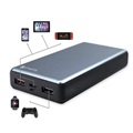 4smarts VoltHub Power Delivery & QC3.0 Power Bank - 20000mAh - Grey