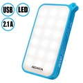 Adata D8000L 8000mAh Dual USB Power Bank with LED Light