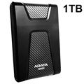 Adata HD650 USB 3.1 External Hard Drive - Black