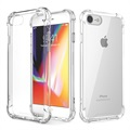 Custodia ibrida anti-graffio per iPhone 7 / iPhone 8 - Cristallina