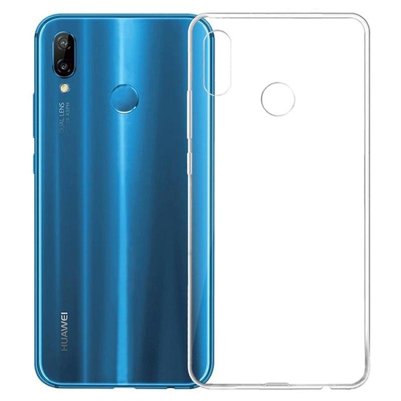 Cover Anti Scivolo TPU per Huawei P20 Lite - Trasparente