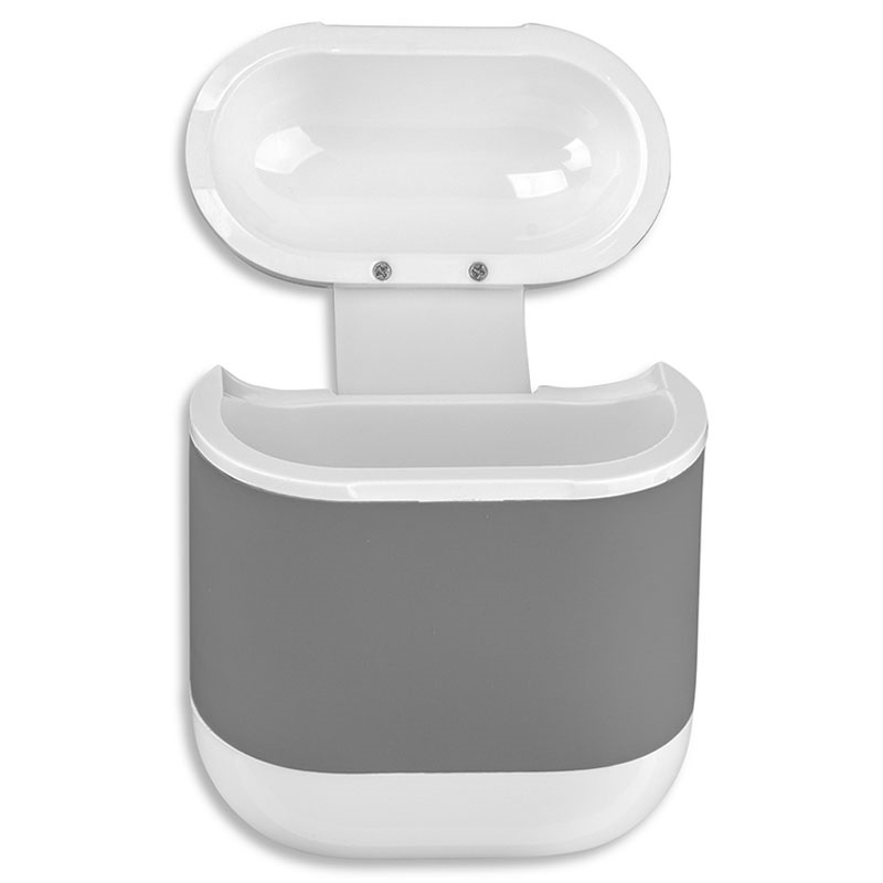 4smarts airpods  4smarts AirPods Wireless Charging Case - Grey / White