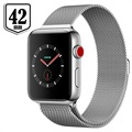 Apple Watch Series 3 LTE MR1U2ZD/A - Acciaio Inossidabile, Loop Milanese, 42mm, 16GB - Argento/Seashell