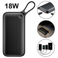 Power Bank Baseus 20000mAH USB-C PD - 18W - Nero