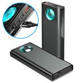 Baseus Amblight 20000mAh QC & PD Power Bank - Black