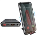 Caricabatterie Qi Wireless / Power Bank Baseus BS-10KPW02 - Nero