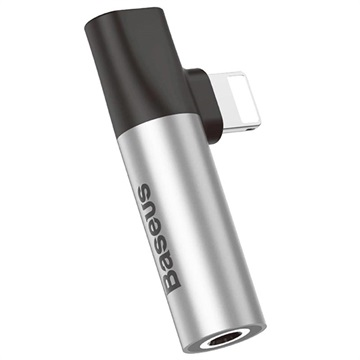 Baseus L43 Lightning Audio Adapter - iPhone XS Max/XS/XR - Silver