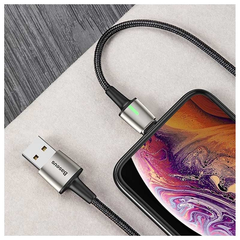 Cavo Magnetico 3-in-1 Baseus - Lightning, MicroUSB, Tipo-C - 1m