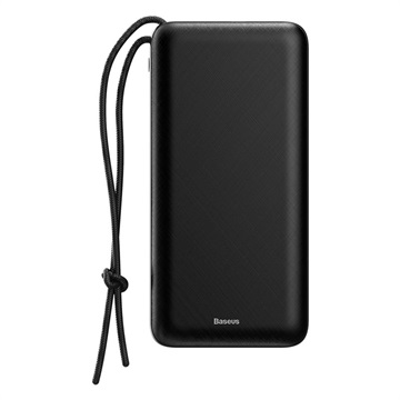 Baseus Mini Q PD Quick Charge Power Bank - 20000mAh - Black