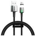 Baseus Cafule USB 2.0 / Lightning Cable - 2m - Black / Grey