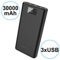 Power Bank 30000mAh Borofone BT2D - 3x USB