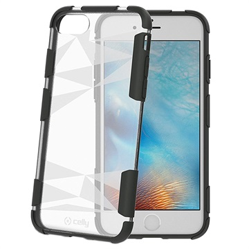 custodia iphone 8 plus trasparente celly