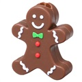 Christmas Themed Plastic Cable Protector - Gingerbread Man