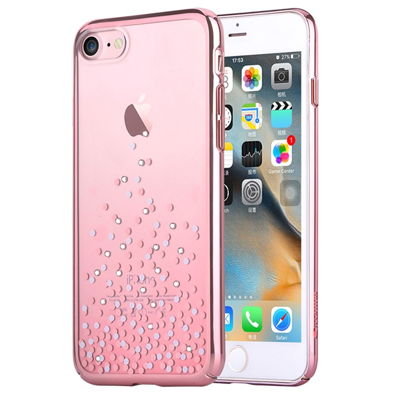 custodia iphone 8 oro rosa