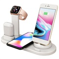 Docking Station with QI Wireless Charger UD15 - White