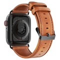 Dux Ducis Apple Watch Series 5/4/3/2/1 Leather Strap - 42mm, 44mm - Brown