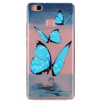 custodia huawei p10 lite farfalle