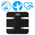 Forever AS-100 Analytical Smart Body Fat Scale - Black