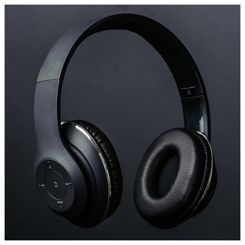 Forever Music Soul BHS-300 Bluetooth Headphones with Microphone - Black