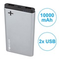 Power Bank con Doppia Porta USB Forever PTB-04M Power+ - 10000mAh