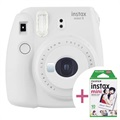 Fujifilm Instax Mini 9 Instant Camera w/ Film - Smoke White