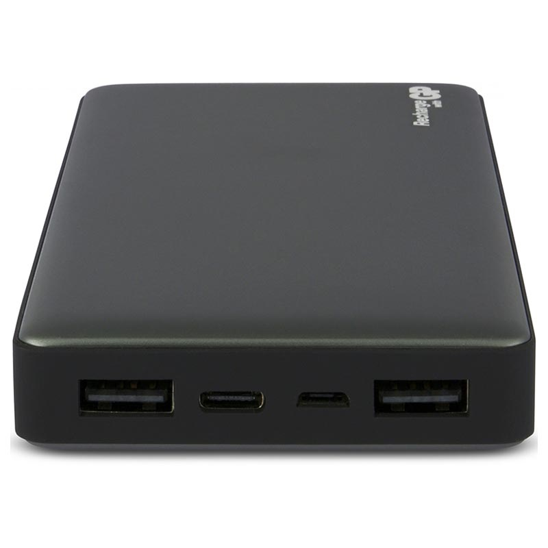 GP MP15MA Portable Type-C Power Bank - 15000mAh - Dark Grey