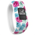 Garmin VivoFit Jr. Activity Tracker for Kids - Flowers