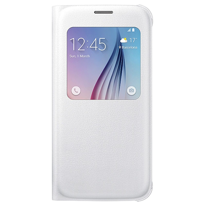 custodia galaxy s6 bianca