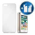 Cover in TPU Hello Flex Ultra Sottile per iPhone 5/5S/SE - Trasparente