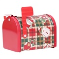 Holiday-Themed Mailbox Candy Storage Box - Christmas