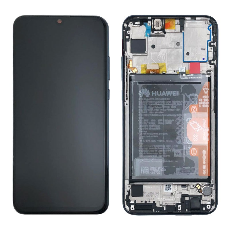 Display LCD (Service pack) 02352JEY per Huawei P Smart (2019)