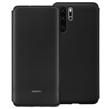 Huawei P30 Pro Wallet Cover 51992866 - Black