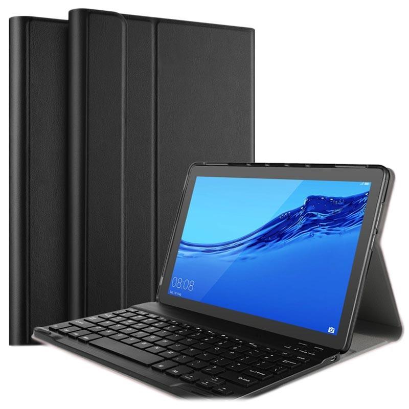 l'atteggiamento migliore 40ad4 84025 Custodia con Tastiera Bluetooth Ivso per Huawei MediaPad T5 10 - Nera
