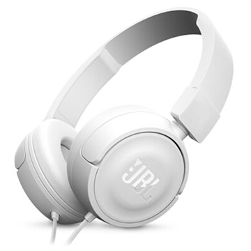 Cuffie on-ear Pure Bass JBL T450 - Bianche