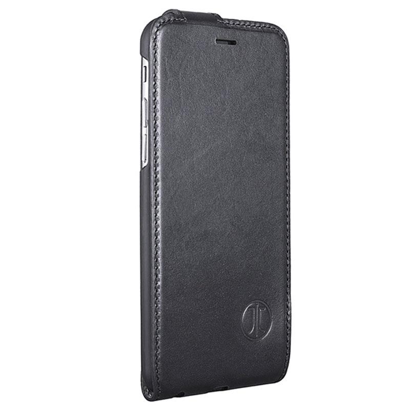 custodia pelle nera iphone 8