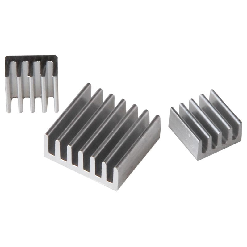 Joy-IT Raspberry Pi Self-Adhesive Aluminum Heat Sink Set