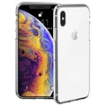 Custodia Autorigenerante Just Mobile Tenc per iPhone XS - Cristallo Trasparente
