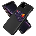 KSQ iPhone 11 Pro Case with Card Pocket - Black