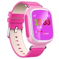Kids GPS Tracking Smartwatch with Hands-Free Q70 - Pink
