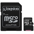 Scheda di Memoria MicroSDXC Kingston Canvas Select SDCS/64GB - 64GB
